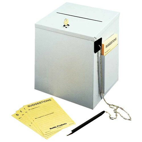 Buddy Products 5620 Suggestion/Ballot Box