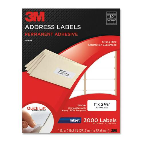 3M Address Label