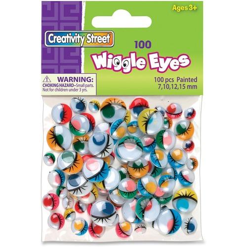 Chenille Kraft Painted Wiggle Eyes