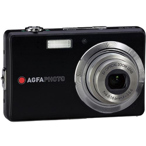 Agfa OPTIMA 102 Point & Shoot Digital Camera - Black