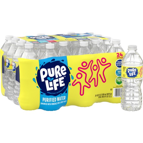 Nestle Pure Life Purified Bottled Water