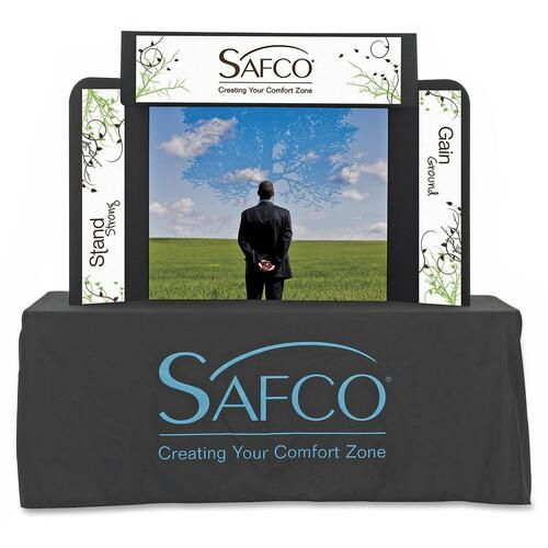 Safco ShoWise 2333BL Large Economy Tabletop Exhibit