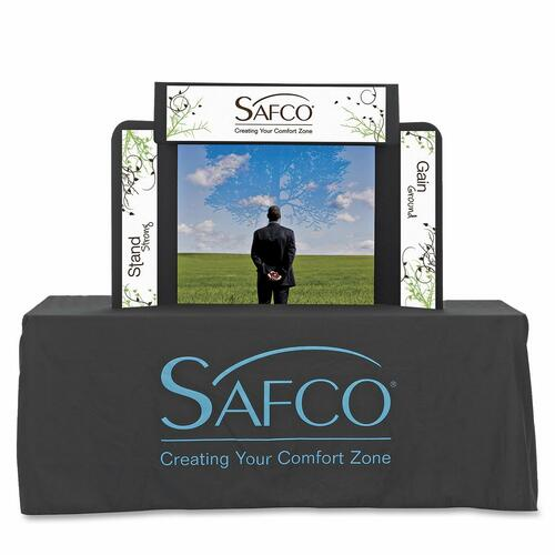 Safco ShoWise 2332BL Small Economy Tabletop Exhibit