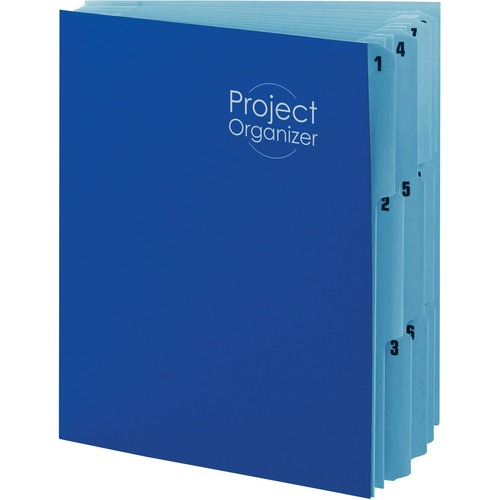 smead 10 pocket project organizer smd89200. Black Bedroom Furniture Sets. Home Design Ideas