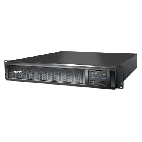 APC SMX1500RM2UNC 1500VA 1200W 120V w/Network Card LCD Smart-UPS SMX1500RM2UNC Rack Mountable