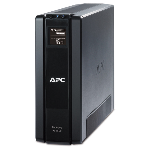 APC Back-UPS XS 1500 VA Tower UPS
