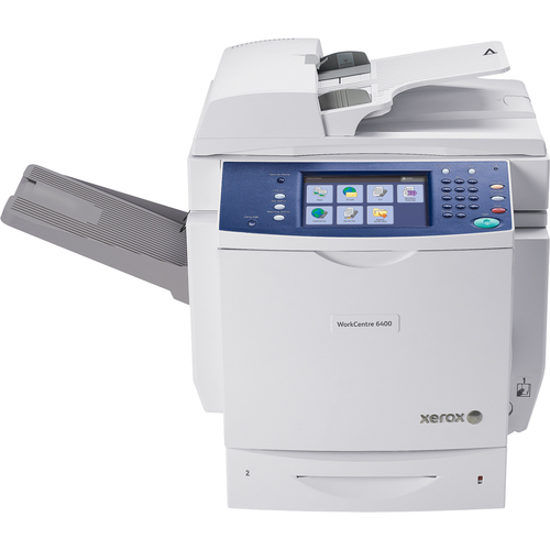 Xerox WorkCentre WC6400SFS Laser Multifunction Printer - Color - Plain Paper Print - Floor Standing