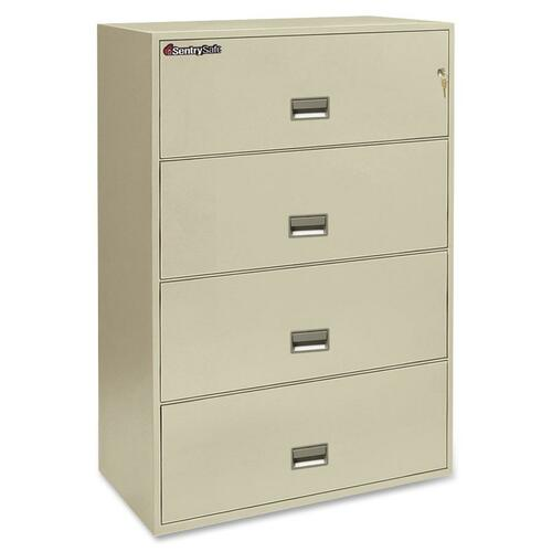 Sentry 4L3610P Lateral Fire File Cabinet
