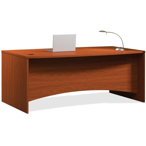 Mayline Brighton Bow Front Desk