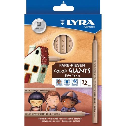 Dixon Lyra Color-Giants Skin Tone Colored Pencils | by Plexsupply