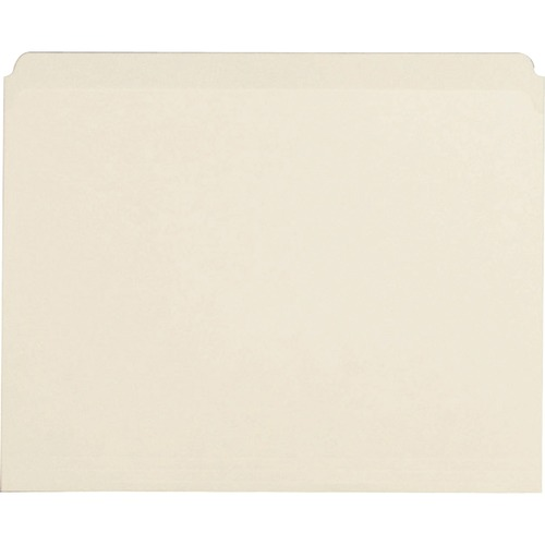 Bus. Source Straight Cut 1-ply Manila File Folders | by Plexsupply