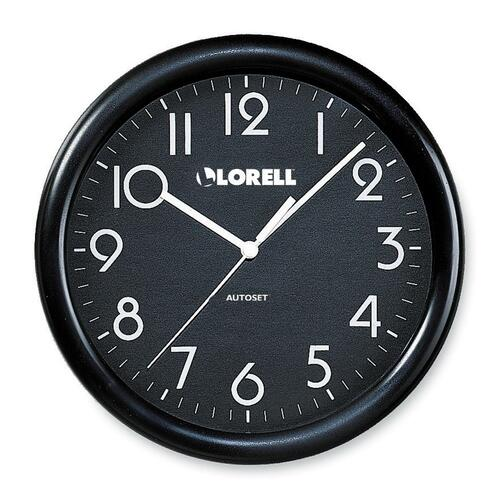 Lorell Radio Control Wood Wall Clock