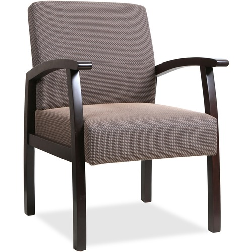 Lorell Wood Base Guest Chair | by Plexsupply