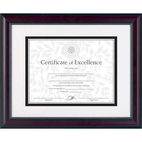 Burns Grp. Prestige Inner Border Document Frames | by Plexsupply
