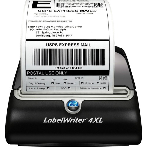 Dymo LabelWriter 4XL Direct Thermal Printer - Monochrome - Desktop - Label Print