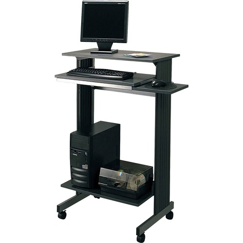 Buddy Products Euroflex Stand Up Height Fixed Workstation