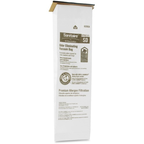 Electrolux Eureka Sanitaire Odor Eliminating Vacuum Bag