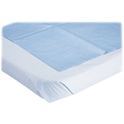 Medline Blue Disposable Stretcher Sheets | by Plexsupply