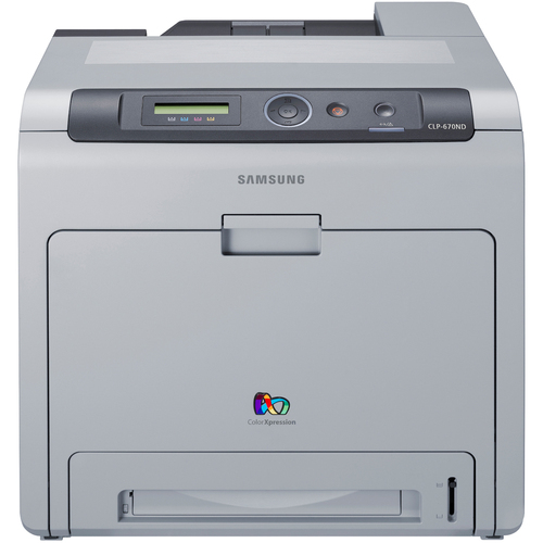 Samsung CLP-670ND Laser Printer - Color - Plain Paper Print - Desktop