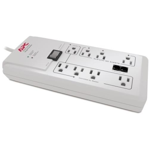 SCHNEIDER ELECTRIC POWER-SAVING PERFORMANCE SURGEARREST 8OUT NEMA 5-15P 120V
