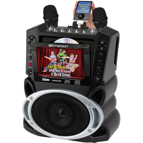 JS Karaoke GM522 Portable CD/CDG/MP3G Karaoke System