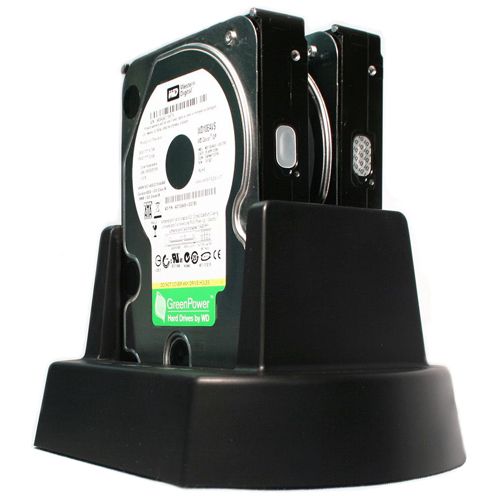 Cavalry Storage EN-CAHDD2B-D Two-Bay Hard Drive Cradle