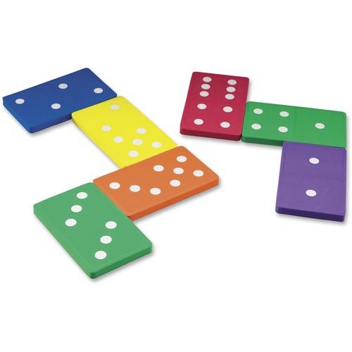 Learning Res. Foam Jumbo Dominoes | by Plexsupply