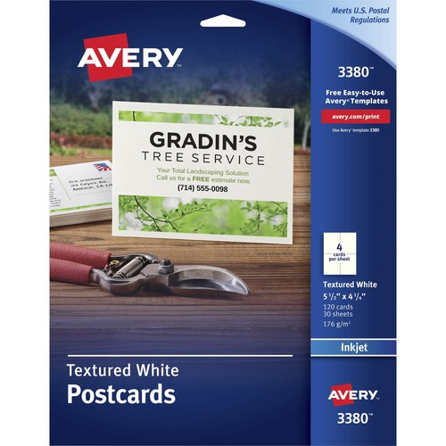 Avery Textured Post Cards | by Plexsupply