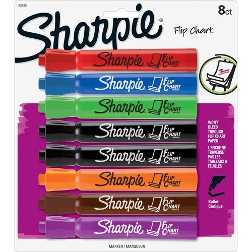 Sanford Sharpie Bullet Point Flip Chart Markers | by Plexsupply