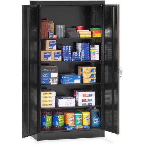 Tennsco Standard Black Storage Cabinet