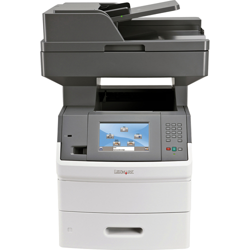 Lexmark X652DE Laser Multifunction Printer - Monochrome - Plain Paper Print - Desktop