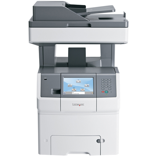 Lexmark X734DE Laser Multifunction Printer - Color - Plain Paper Print - Desktop