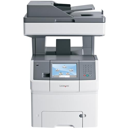 Lexmark X738DE Laser Multifunction Printer - Color - Plain Paper Print - Desktop