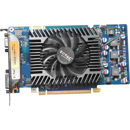 Zotac ZT-96SEQ3P-FDL GeForce 9600 GSO Graphic Card - 650 MHz Core - 256 MB GDDR3 SDRAM - PCI Express 2.0 x16