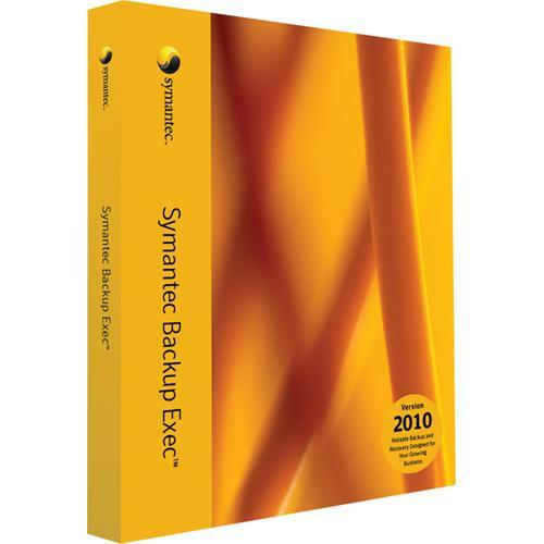 Symantec Backup Exec 2010 NDMP Option with 1 Year Essential Support - Complete Product - 1 Server