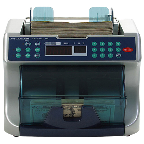 Accubanker AB5000PLUS Professional Bill Counter