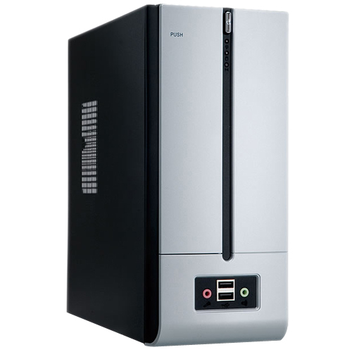 In Win Development BM639 System Cabinet - Ultra Small - Black Silver