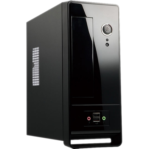In Win BM650 System Cabinet - Ultra Small - Piano Black