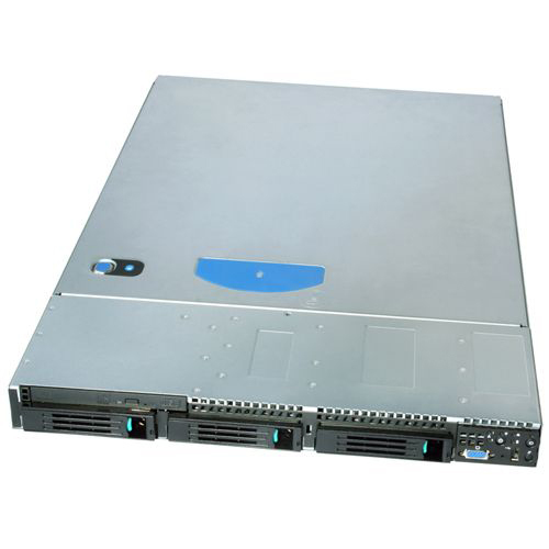 Intel SR1600URHSRNA Barebone System - 1U Rack-mountable - Intel 5520 Chipset - Socket B LGA-1366 - 2 x Processor Support