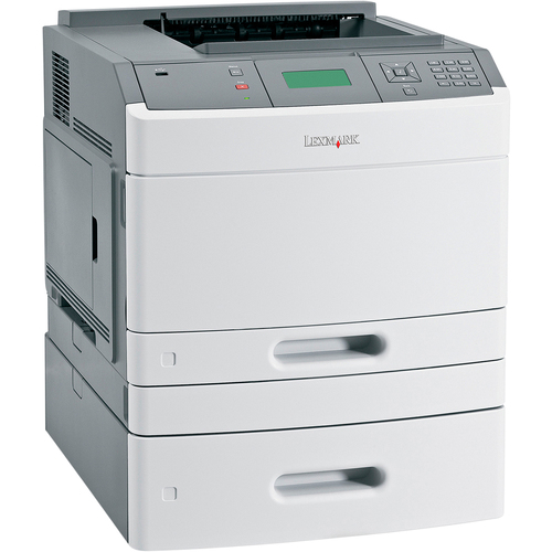 Lexmark T650DTN Laser Printer - Monochrome - Plain Paper Print - Desktop
