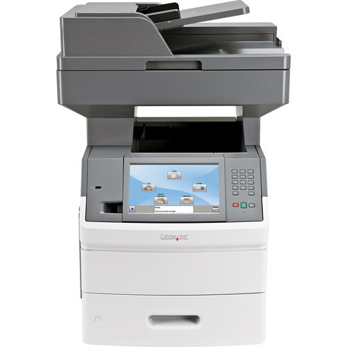 Lexmark X654DE Laser Multifunction Printer - Monochrome - Plain Paper Print - Desktop
