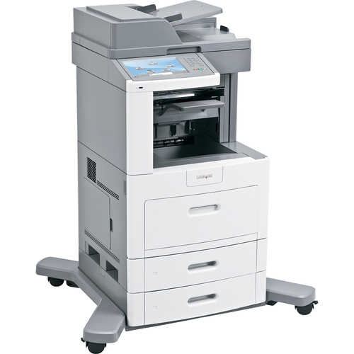 Lexmark X658DFE Laser Multifunction Printer - Monochrome - Plain Paper Print - Desktop