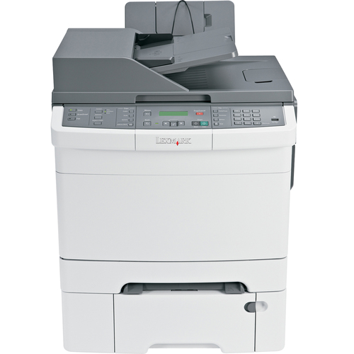 Lexmark X544DTN Laser Multifunction Printer - Color - Plain Paper Print