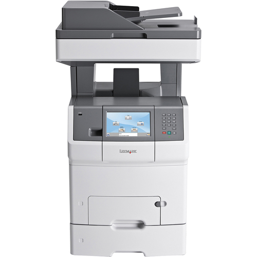 Lexmark X738DTE Laser Multifunction Printer - Color - Plain Paper Print - Floor Standing