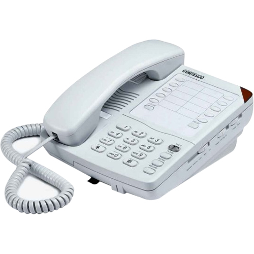 Cortelco Colleague 220200VBA27S Standard Phone - Black