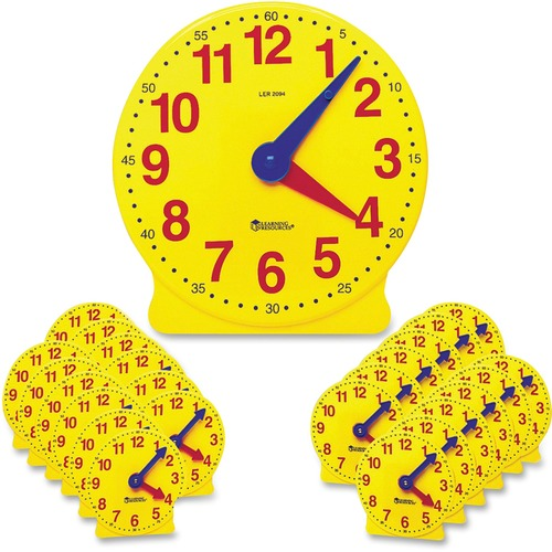 Learning Res. Classroom Clock Kit | by Plexsupply