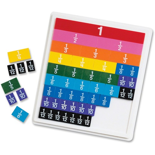 Learning Res. Rainbow Fraction Tiles | by Plexsupply