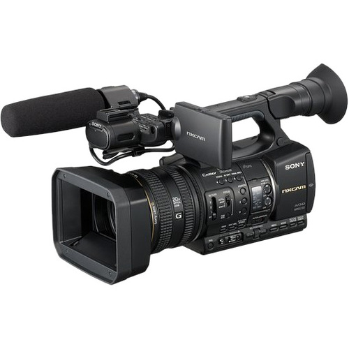 "Sony HXRNX5U Digital HD Video Camcorder - 3.2"" LCD - CMOS - SD"