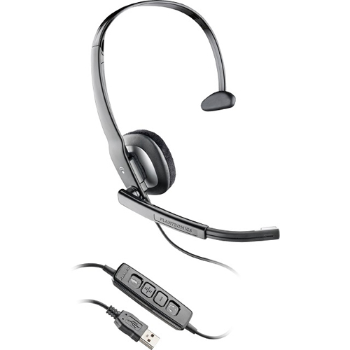 Plantronics Blackwire C210 Headset - Mono