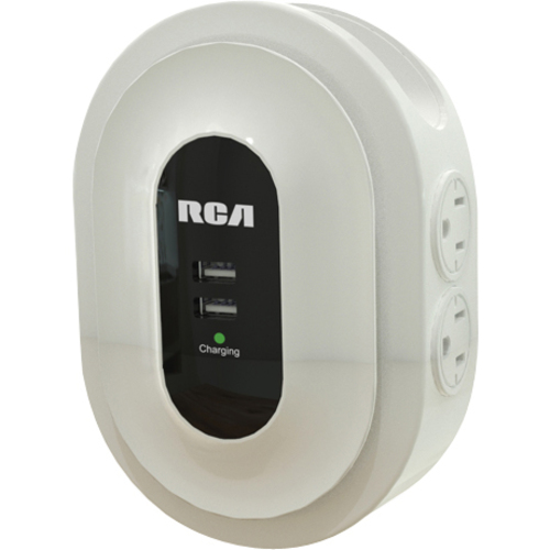RCA PCHSTA1R 6-Outlets Power Strip